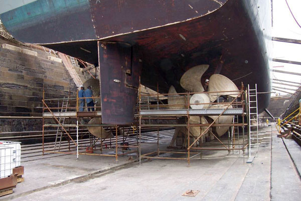 Vessel Engine Replacement